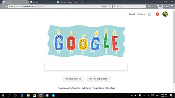 birthday from google